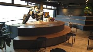 バイカーが集まる!夕日を眺められるカフェ「SSTR cafe」能登千里浜レストハウス1階【羽咋市】