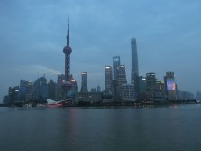 Pudong nocą_Pudong by night