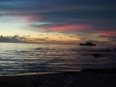 o zachodzie na plaży_sunset on the beach