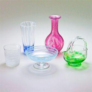 菊池正博のガラス作品