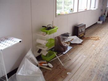 大掃除廊下
