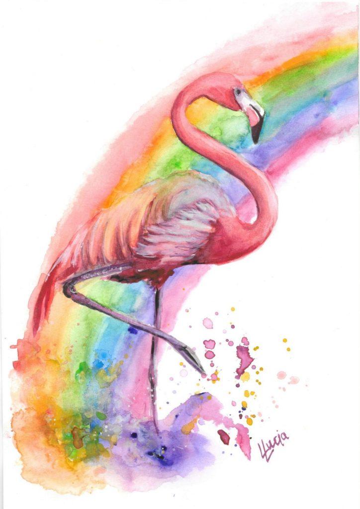 Flamingo commission