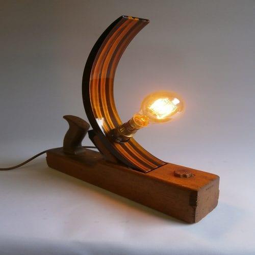 Vintage Planer Lamp