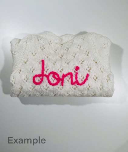 Personalised Knitwear Baby/Children