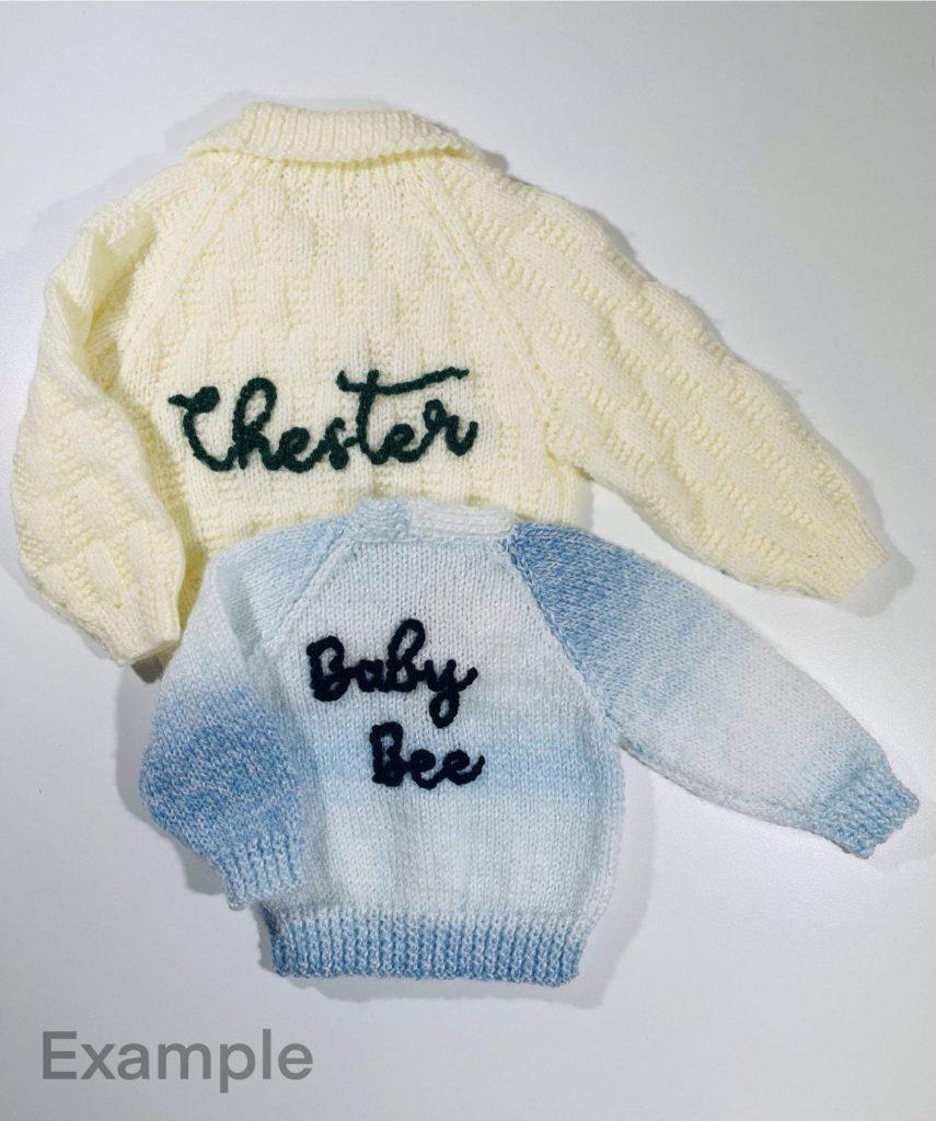 Personalised Knitwear Baby/Children