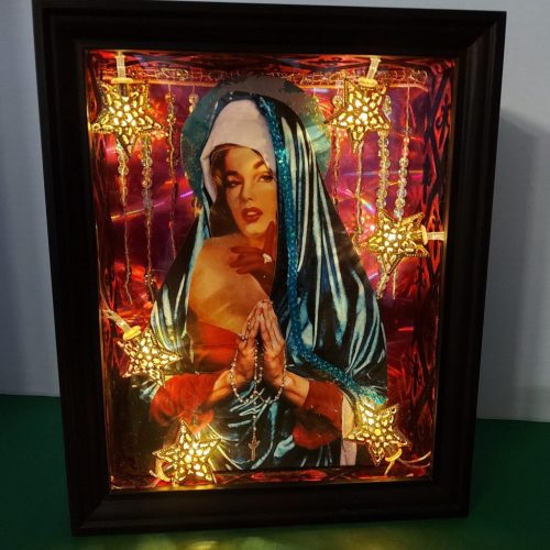 Jennies Montage. Light boxes.
