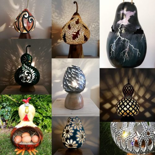 Homegrown & Handcrafted Art for the Home by Gorgeous Gourds