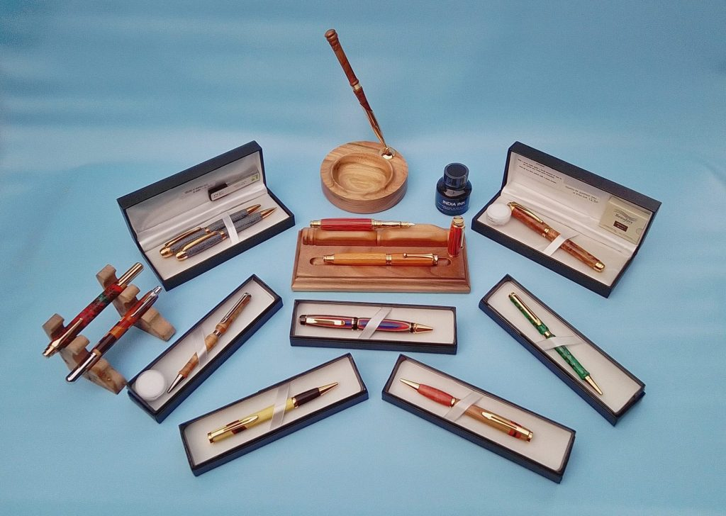 Handcrafted writing implements