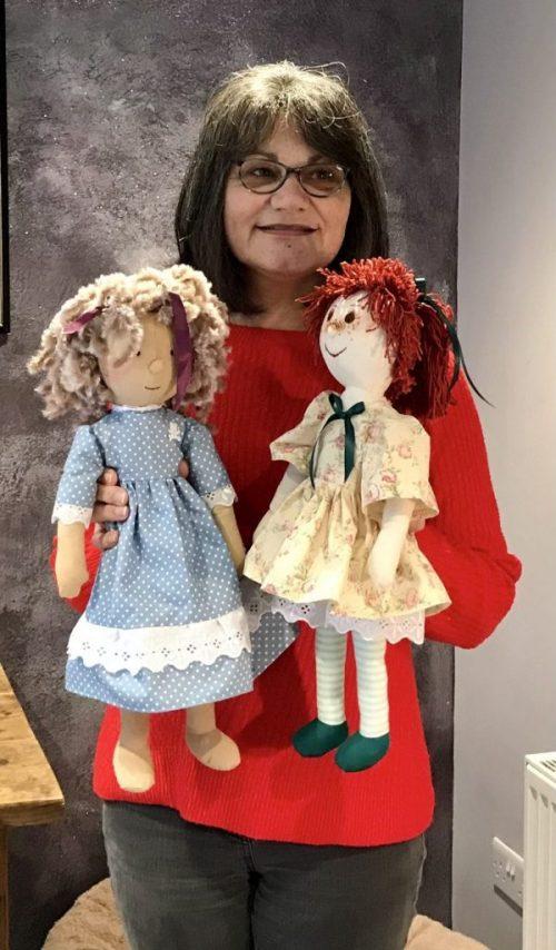 Kay Prior's handmade dolls