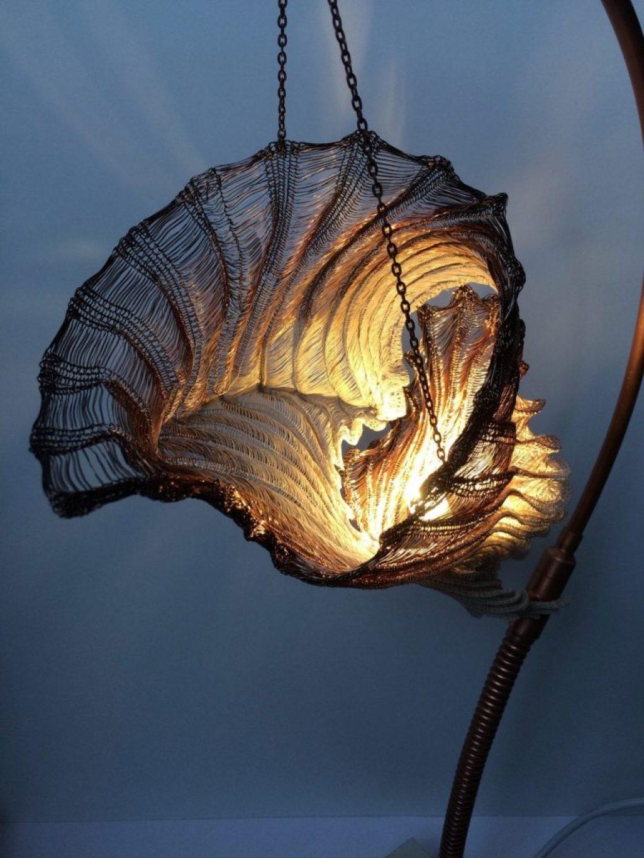 Shell light shade