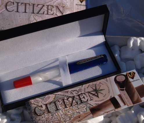 MarteModena Citizen London fountain pen