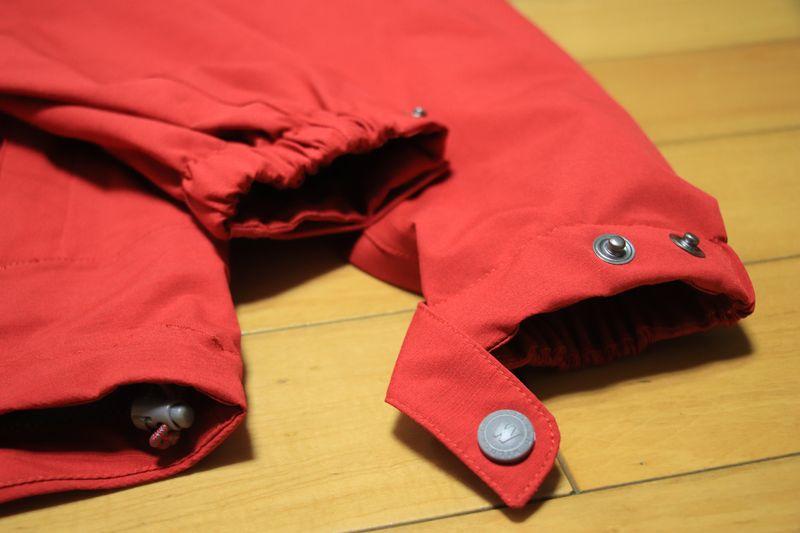 防水外套手袖扣子