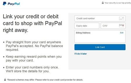 Cara Membuat Akun Paypal Hubungkan Kartu Kredit