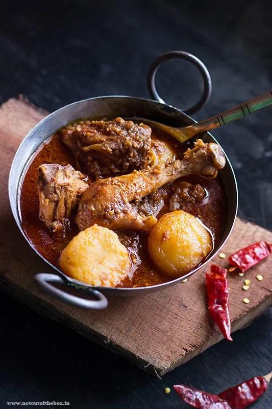 Murgir Jhol/Bengali Chicken Curry