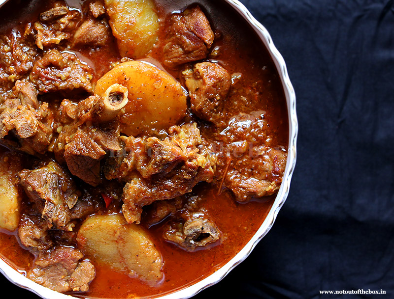 Bengali Mutton Curry/Mangshor Jhol | Not Out of the Box