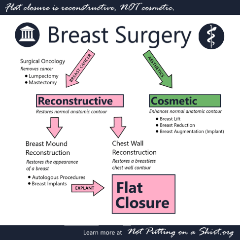 flat closure is reconstructive flow diagram breast cancer mastectomy reconstruction choices Not Putting on a Shirt