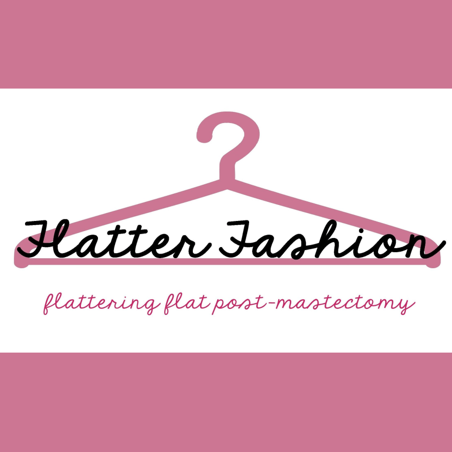 Cover of blog for fashion tips after mastectomy with no reconstruction: Flatter Fashion