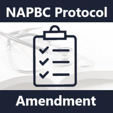 NAPBC Protocol Amendment infographic
