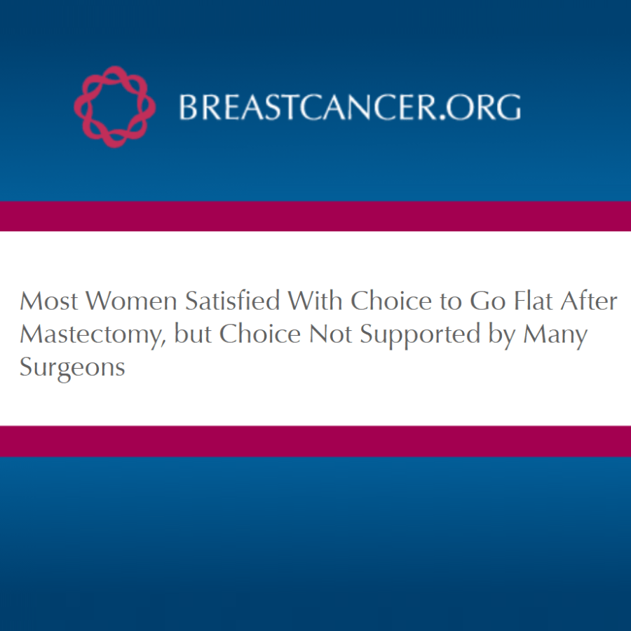 BreastCancer.org - Article on Aesthetic Flat Closure