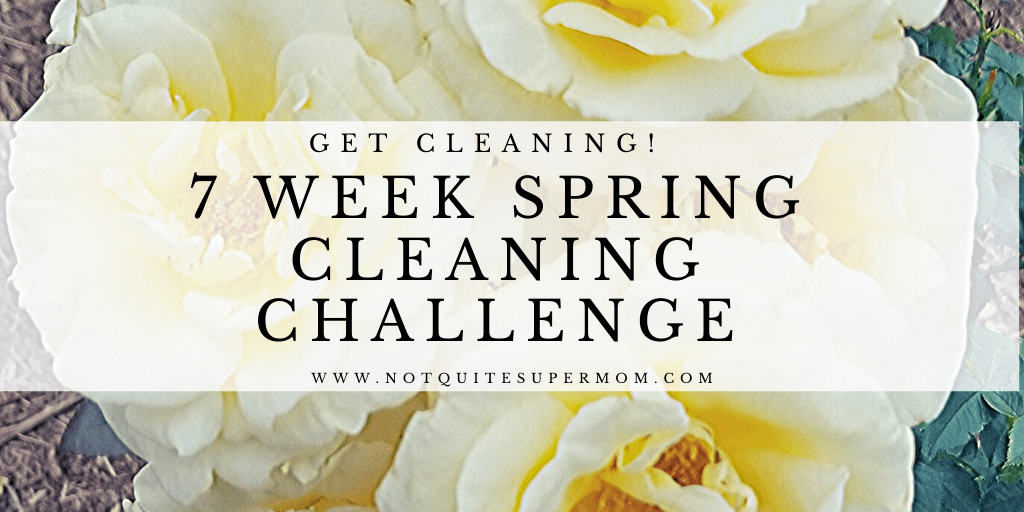 Countdown to Spring Home Cleaning Challenge