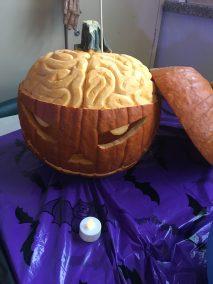 Citrouille:  Le cerveau de la citrouille
