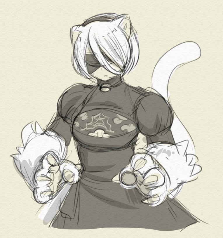 """I thought about """"kitty combat bracers"""""""