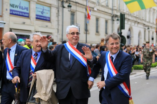 Jean-Pierre Sueur et Serge Grouard, anciens Maires d'Orléans