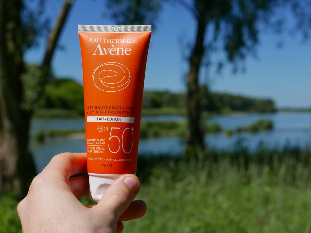 crème solaire Avène