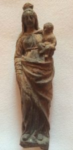 Statuette de Notre dame de Bargemon