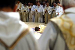 Ordination presbytérale d'Alain Croze le 10 septembre