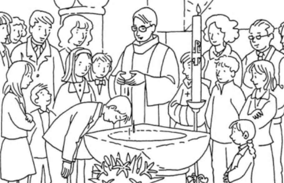 Samedi 1er juin 2019 à 10h30 : baptême de 16 enfants du primaire à Notre-Dame du Port
