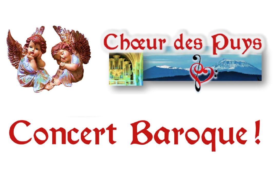Le « Concert Baroque ! » du Choeur des Puys : samedi 16 juin à 20h30 à Notre-Dame du Port