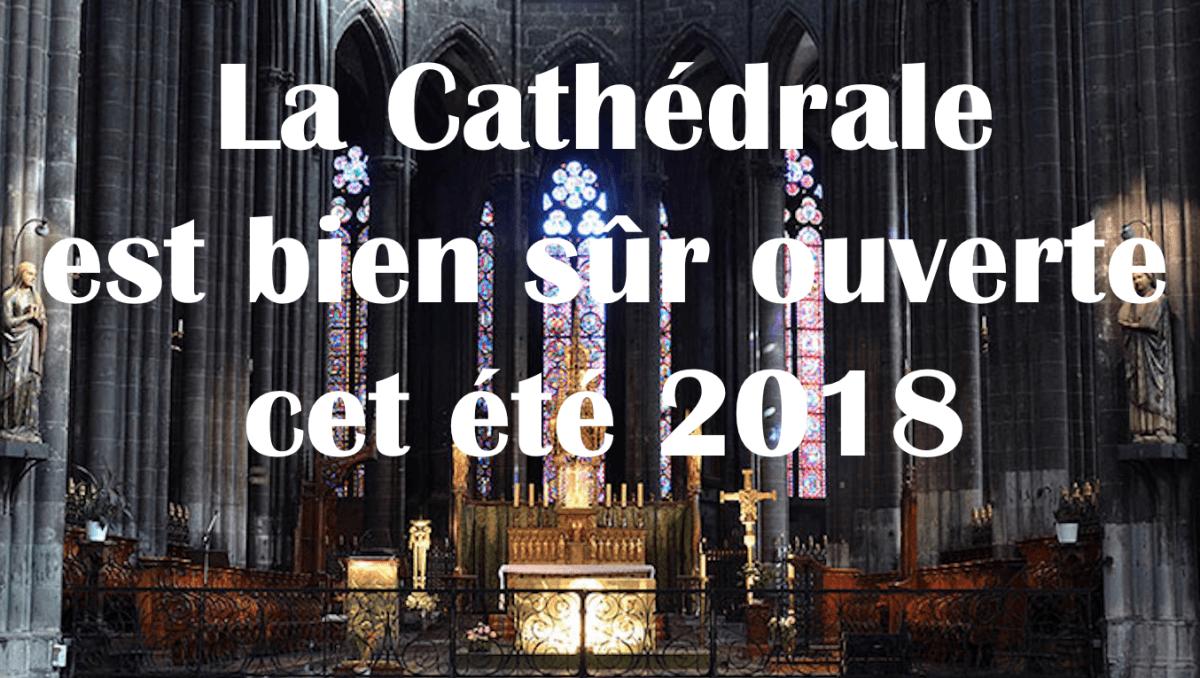 Un communiqué du Père Paul Destable, Recteur de la Cathédrale de Clermont-Ferrand