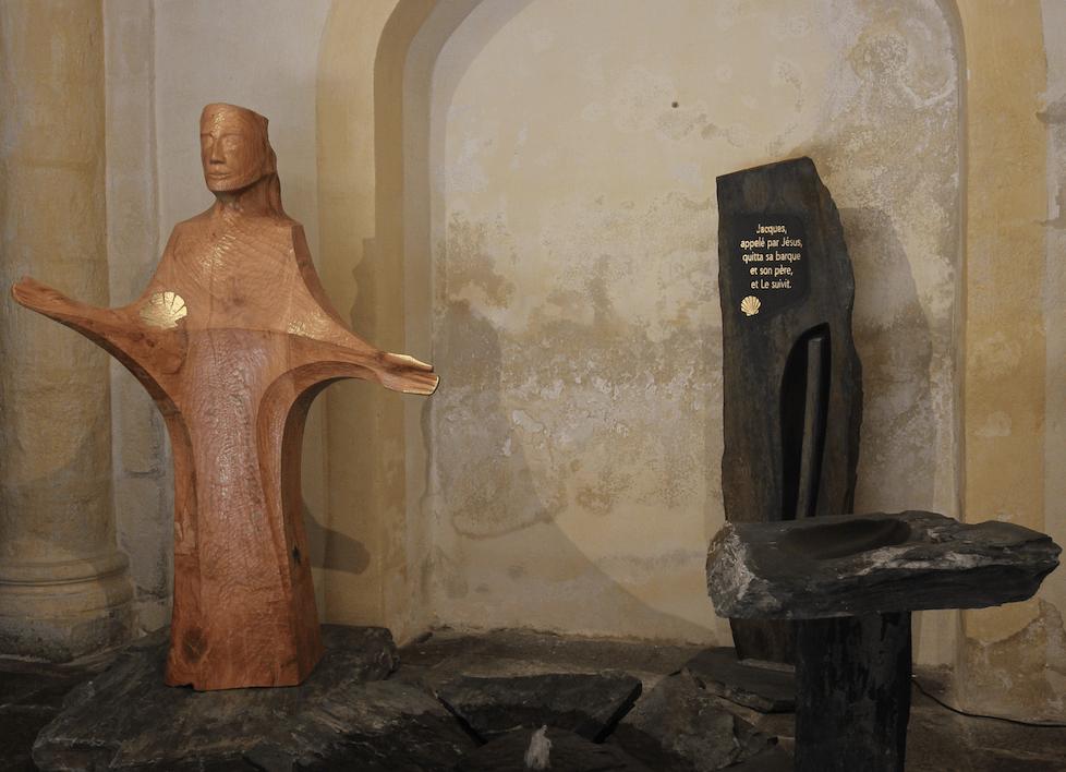 Poursuite de la souscription pour la statue de saint Jacques installée à Notre-Dame du Port