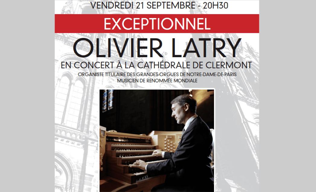 Vendredi 21 septembre à 20h30 : soirée exceptionnelle à la Cathédrale avec l'organiste titulaire des Grandes Orgues de Notre-Dame de Paris