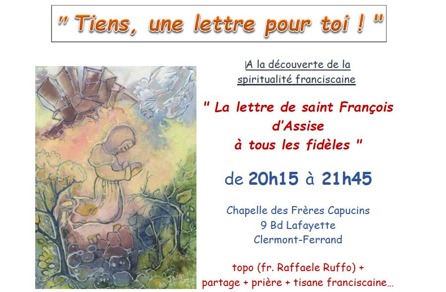 Découverte de la spiritualité franciscaine avec les Frères Capucins à partir du mercredi 17 octobre 2018