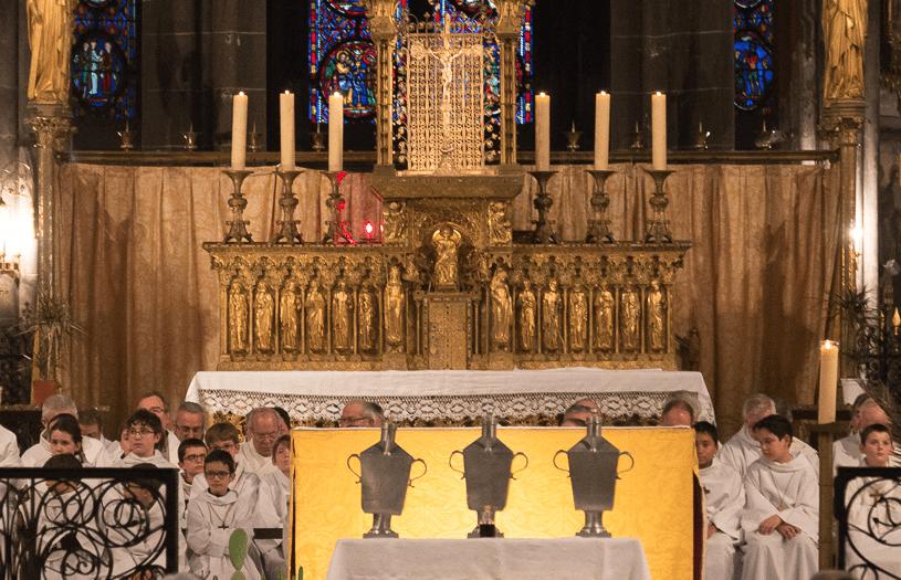 Messe chrismale le mardi 16 avril 2019 à 18h30 avec Mgr François Kalist à la Cathédrale