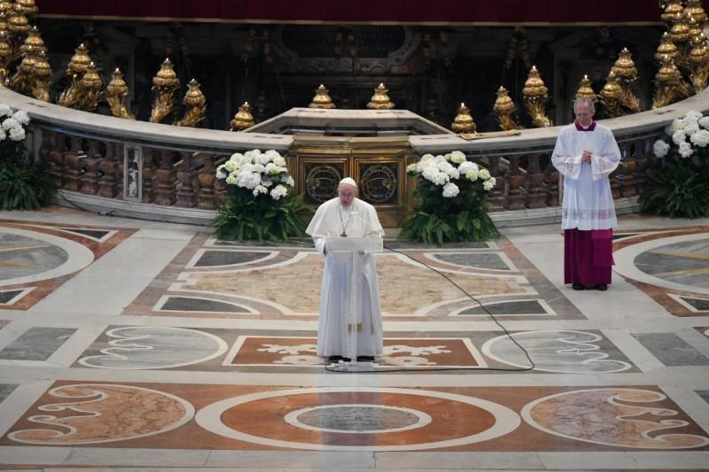 Message de Pâques et bénédiction URBI ET ORBI du pape François
