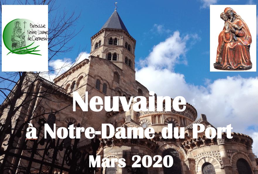 Neuvaine de mars 2020 à Notre-Dame du Port
