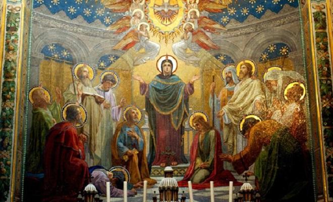9 tableaux vivants de la vie de la Vierge Marie en mai 2020
