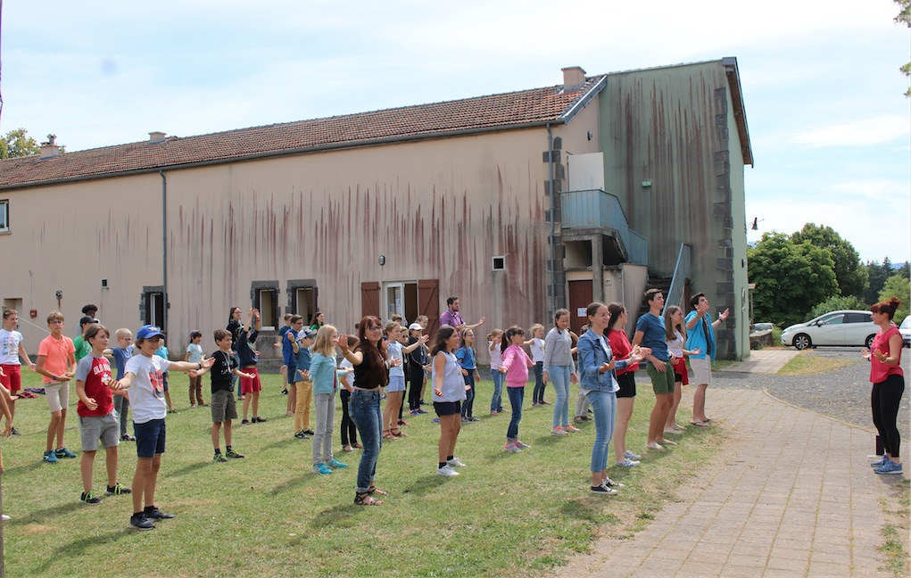 Activités spirituelles et activités ludiques et de plein air alternent à l'École de prière de Clermont