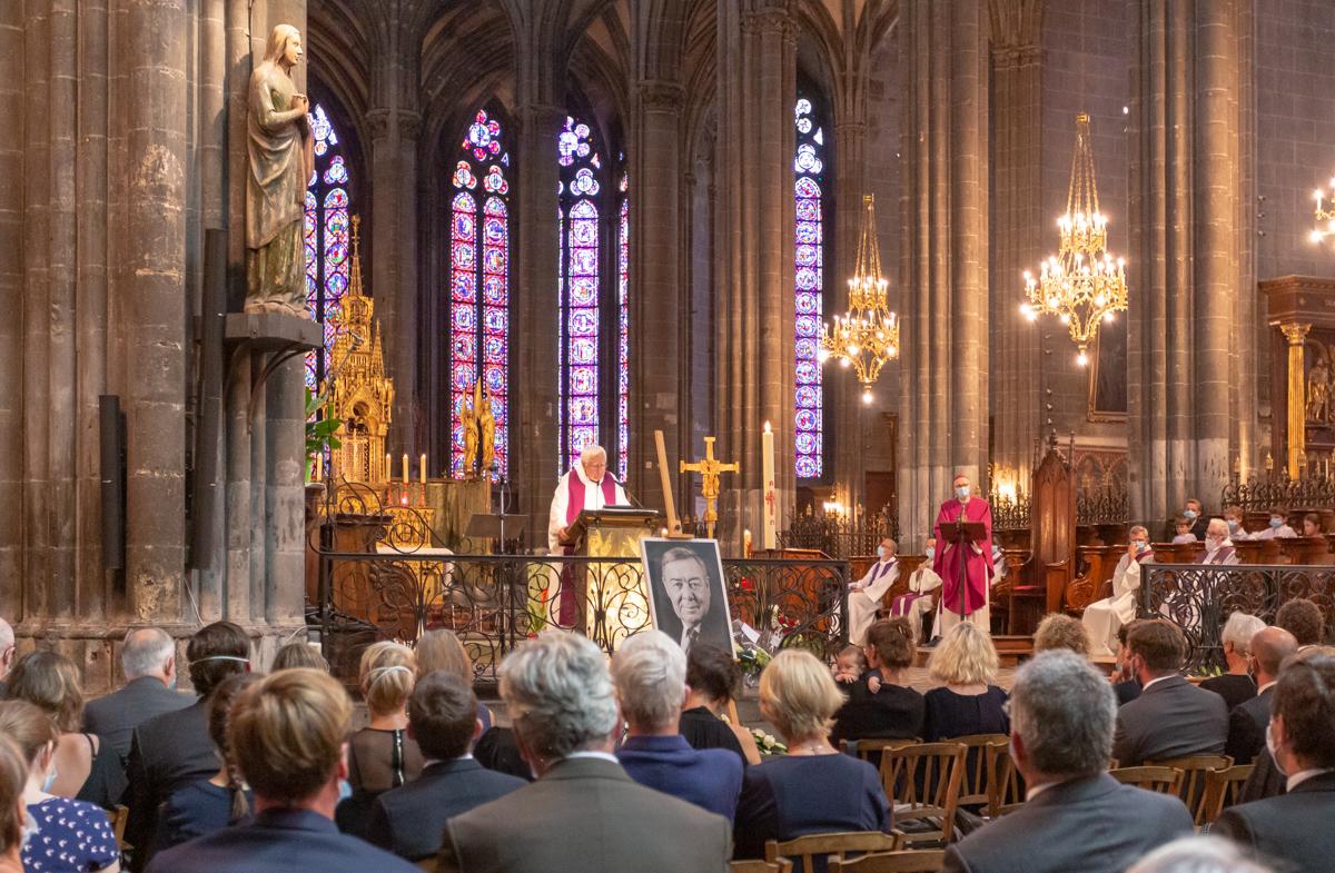 Les obsèques religieuses d'Éric de Cromières du 25 juillet 2020 en la Cathédrale [Actualisé le 31 juillet]