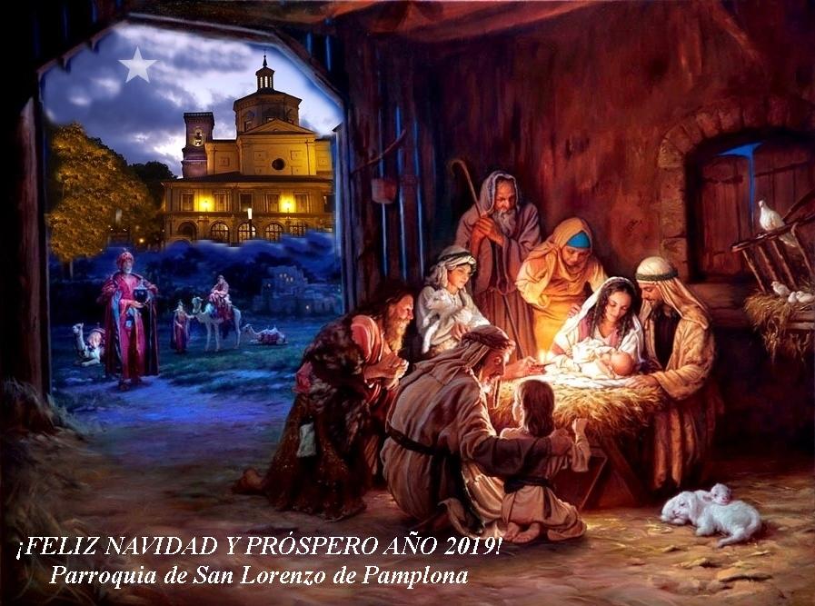 «Il n'y aura pas de Noël ? Bien sûr que si !» par le Père  Javier Leoz, curé de paroisse à Pampelune