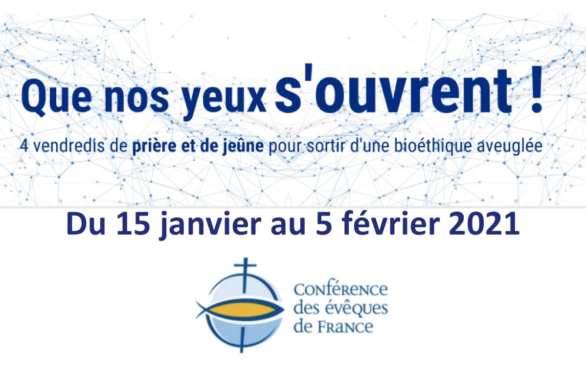 Loi bioéthique : les évêques de France invitent à quatre vendredis de jeûne et de prière