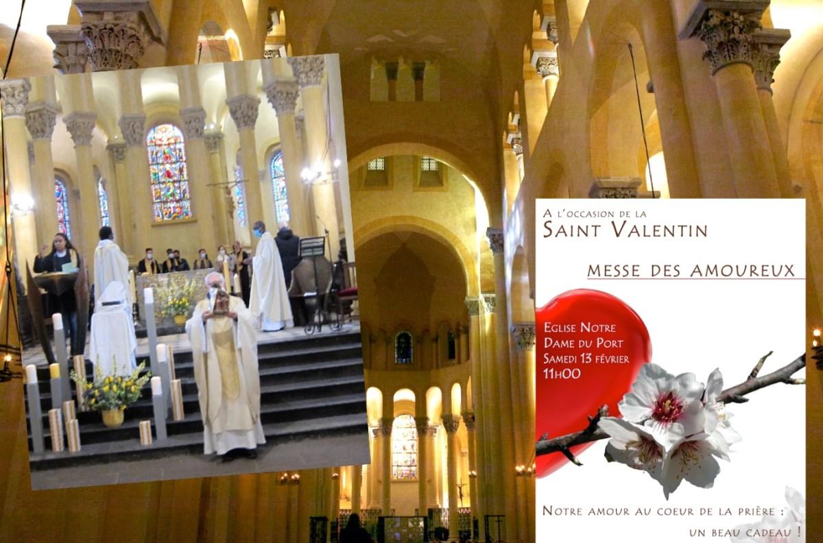 Messe des amoureux 2021 à Clermont-Ferrand : retour sur la messe du 13 février à N-D du Port