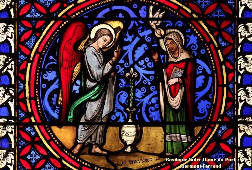 Jeudi 25 mars 2021 : Solennité de l'Annonciation du Seigneur : messe à 8 h et 12 h 15