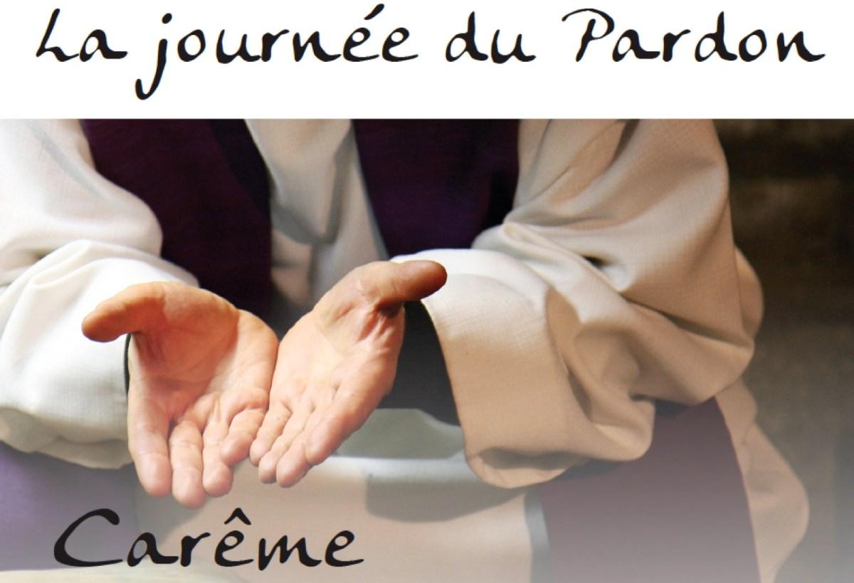 Journée du «Pardon» : vendredi26 mars de 10h à 18h30 – Célébration pénitentielle : lundi 29 mars à 17h30