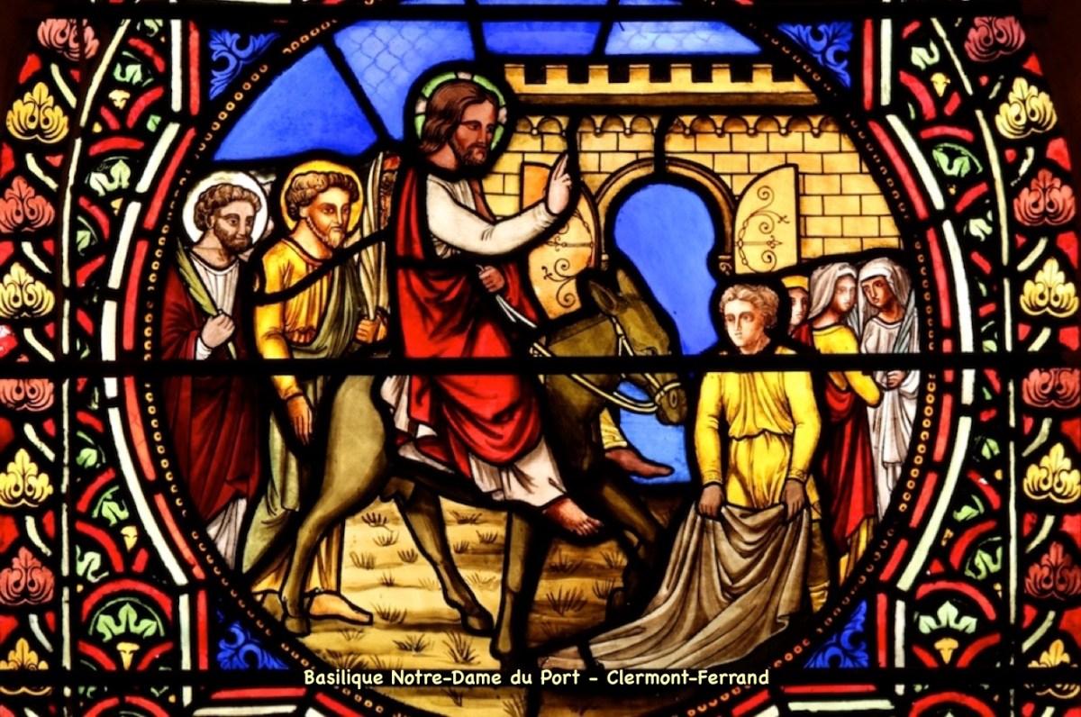 Prière universelle de la paroisse Notre-Dame de Clermont – Dimanche des Rameaux, 28 mars 2021