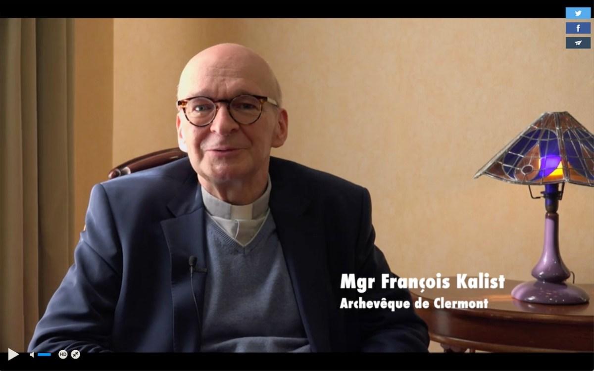 Message de Pâques 2021 de Monseigneur François Kalist, archevêque de Clermont