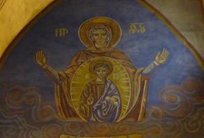 Fresque de l'église Ste Anne de Châtel-Guyon